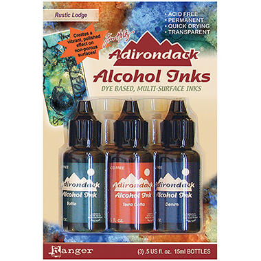 Adirondack Alcohol Ink 3-Pack (.5 Oz Each) - Rusti