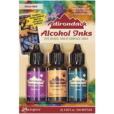 Adirondack Alcohol Ink 3-Pack (.5 Oz Each) - Natur