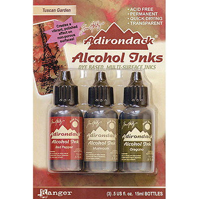 Adirondack Alcohol Ink 3-Pack (.5 Oz Each) - Tusca