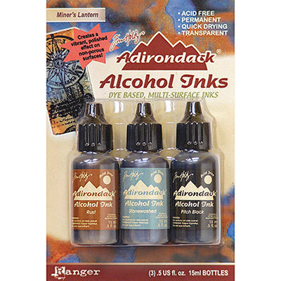 Adirondack Alcohol Ink 3-Pack (.5 Oz Each) - Miner
