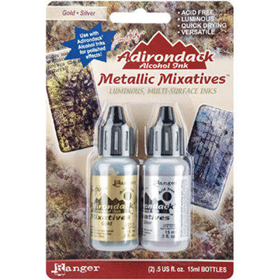 Holtz Adirondack Alcohol Ink Mixative 2-Pack (.5oz