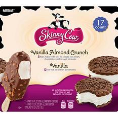 Skinny Cow Ice Cream Variety Pack (17 ct. box)