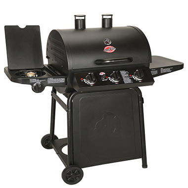 CharGriller Grillin' Pro Gas Grill - 3 Burner