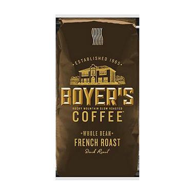 Boyer's Coffee French Roast - Whole Bean - 2.5 lbs.