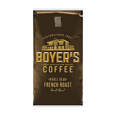 Boyer's Coffee French Roast - Whole Bean - 2.5 lbs.