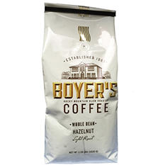 Boyer's Coffee Hazelnut, Whole Bean (2.25 lbs.)