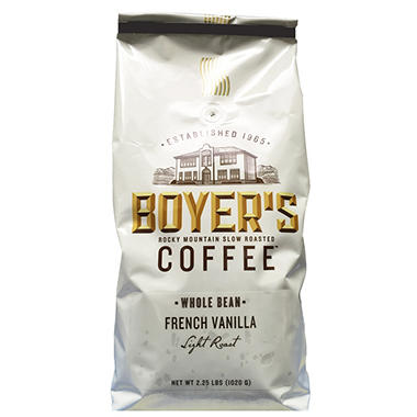 Boyer's Coffee French Vanilla - 2.5 lbs.