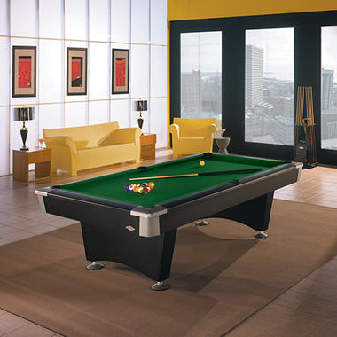 Brunswick boca 8 foot billiard table select cloth sam - 8 foot pool table dimensions ...