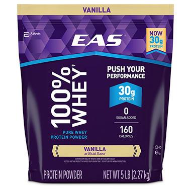 EAS® 100% Whey Protein Vanilla - 5 lbs.