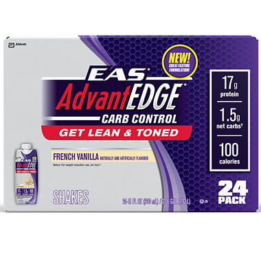 EAS Carb Control™ French Vanilla Shake - 11 oz. - 24 ct.