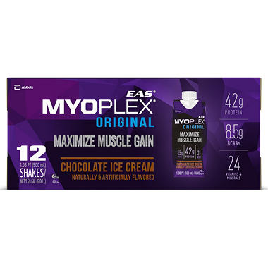 Myoplex Original Chocolate Fudge - 12/17oz