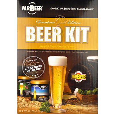 Premium Gold Edition Home Beer Kit