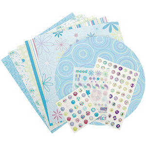 "Scrapbook Page Kit 12""X12"" - Mod Smitten"