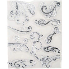 Stampology Clear Stamps Rhonna Farrer - Swirls