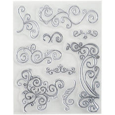 Stampology Clear Stamps Rhonna Farrer - Swirls V.2