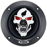 "Boss Audio Phantom Skull 4"" 2-way 250-watt Auto Coaxial Speaker"
