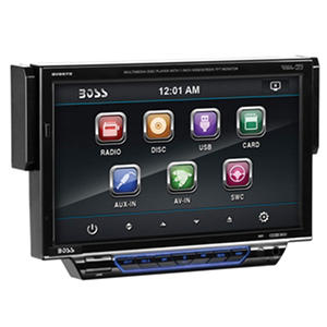 "Boss Audio Single Din 7"" Drop Down Motorized Touchscreen Monitor"