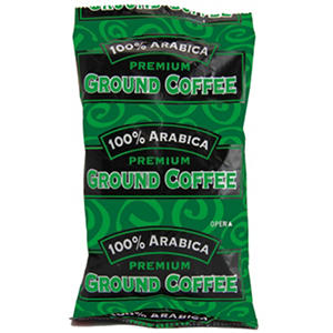 100% Arabica Coffee - Decaf Blend - 1.5 oz. - 63 ct.