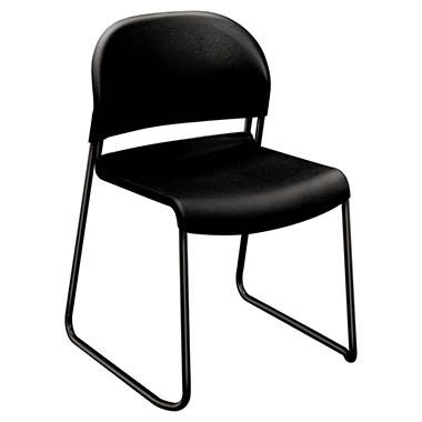 HON GuestStacker Series Chair, Black (4 pk.)