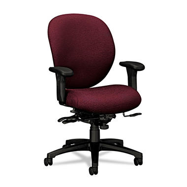 HON - 7600 Series Mid-Back Chairs w/ Seat Glide