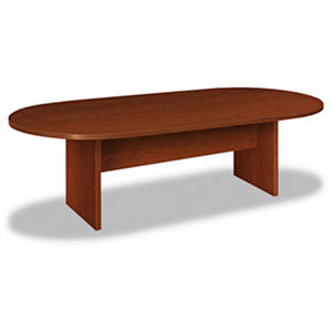 "basyx BL Laminate Series 96"" Oval Conference Table, Select Color"