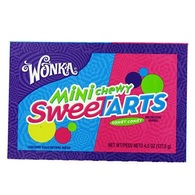 Sweetarts Chewy Theater Box - 4.5 oz. Box - 12 ct.