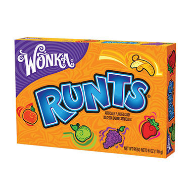 Runts Theater Box - 6 oz. Box - 12 ct.