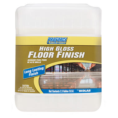 ProForce® High Gloss Floor Finish - 2.5 gal.