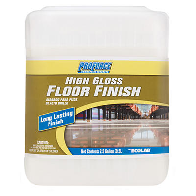 ProForce® High Gloss Floor Finish - 2.5 gal.
