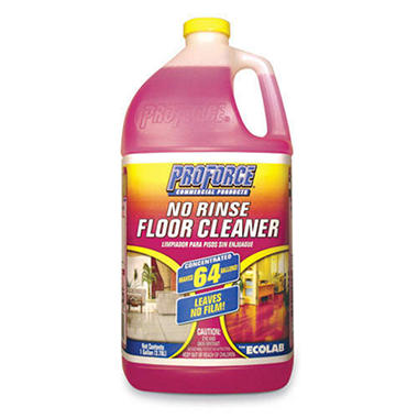 ProForce No Rinse Floor Cleaner - 1 gal.