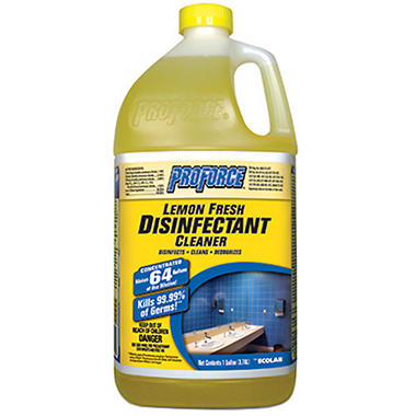 ProForce� Lemon Fresh Disinfectant Cleaner - 1 gal.