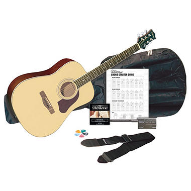 Silvertone SD3000 Acoustic Guitar Pack