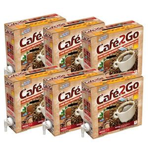 Cafe2Go Self-Heating Beverage Kit - Variety - 6 pk.