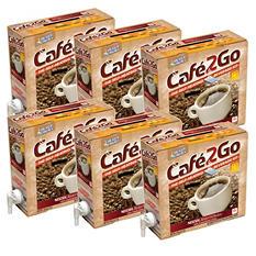 Cafe2Go Self-Heating Beverage Kit - Coffee - 6 pk.