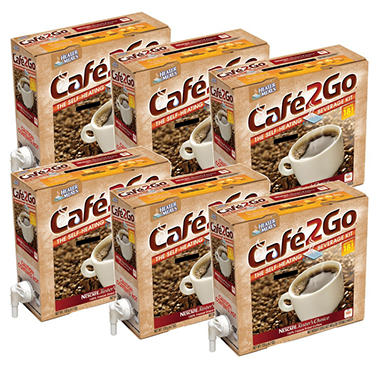 Cafe2Go Self-Heating Beverage Kit - Coffee, 6 pk.