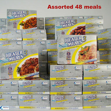 HeaterMeals 3 Assorted Pallet 600 Meal Pack