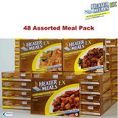 HeaterMeals EX 96-Hour Pack - 48 Main Entrées