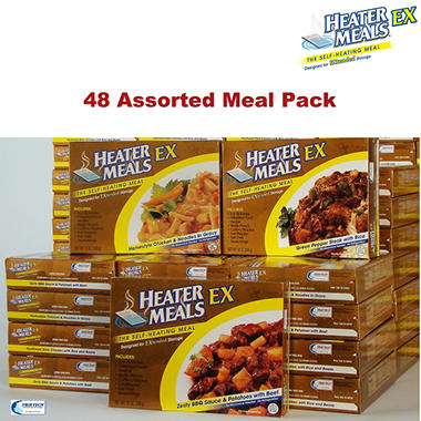HeaterMeals EX 96-Hour Pack - 48 Main Entr�es
