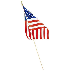 "Liberty Flag American Hand Flags, 8"" X 12"", 48 Pack"