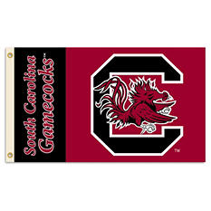 NCAA South Carolina Gamecocks 3' x 5' Flag with Pole Mount Kit