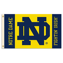 NCAA Notre Dame Fighting Irish 3' x 5' Flag with Pole Mount Kit