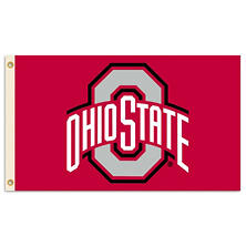 NCAA Ohio State Buckeyes 3' x 5' Flag with Pole Mount Kit