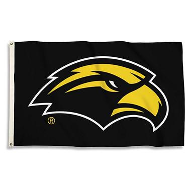 3'X5' FLAG W/ POLE S MISS GLD EAGLES