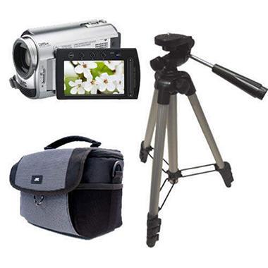 JVC Everio 30GB HDD Camcorder Bundle