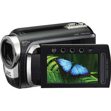 JVC Everio GZ-HD300 60GB HD Camcorder Bundle