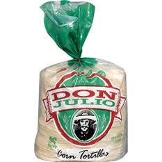Don Julio Corn Tortillas - 100 ct.