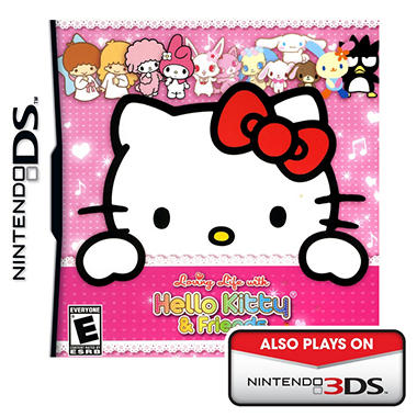 Loving LIfe with Hello Kitty and Friends - NDS