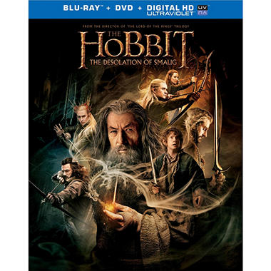 The Hobbit: The Desolation Of Smaug (Blu-ray + DVD)