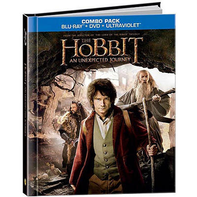 The Hobbit: An Unexpected Journey (Blu-ray DigiBook + UltraViolet) (Walmart Exclusive)