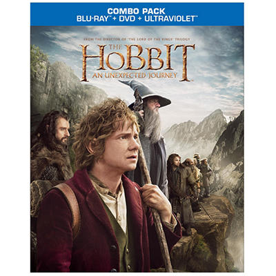 The Hobbit: An Unexpected Journey (Blu-ray + DVD + UltraViolet) (Widescreen)